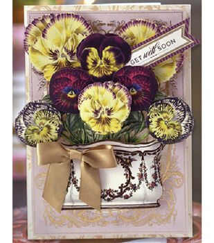 Pretty Pansies Card