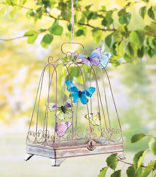 How To Make A Butterfly Birdcage