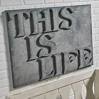 This is Life Large Canvas