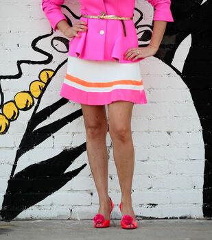 Colorblocked Skirt