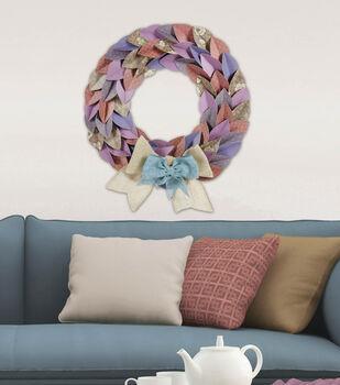 Pastels Wreath