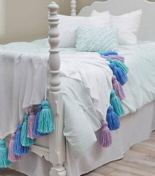 Tasseled Fleece Blanket
