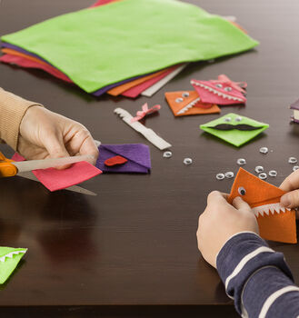 How to Make Felt Monster Bookmarks