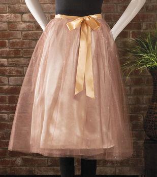 Glitter Tulle Wrap Skirt