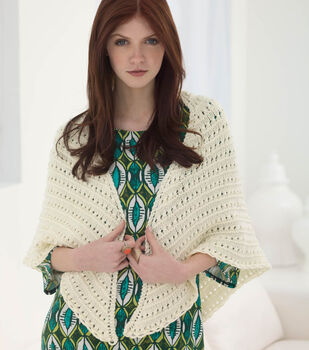 How to Make an Antique Eyelet Shawl