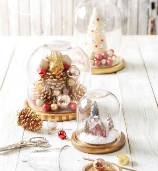 Makers Guide: Winter Dome Decor