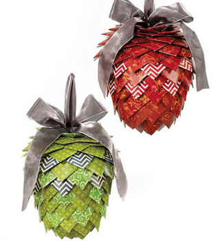 Hanging Pinecone Christmas Decor