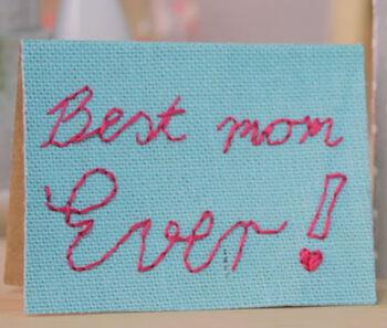 Love Stitch Card