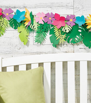 Tropical Floral Banner