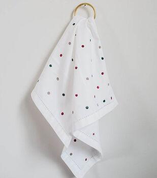 Stamped Tea Towel