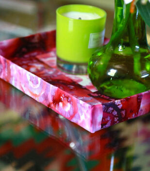 How to make Fabric Covered Tray