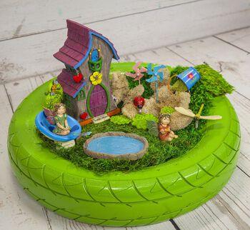 Summer Brights Fairy Garden