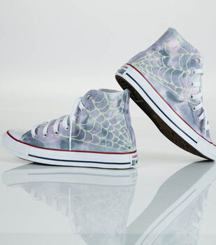 How To Make Spider Web High Tops
