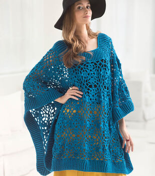 How To Knit A Lacy Poncho