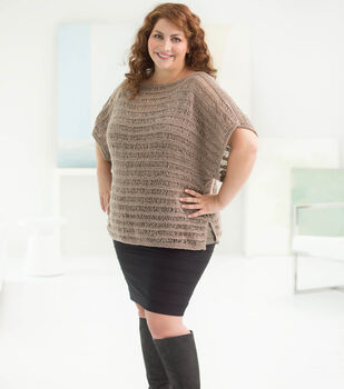 How To Make A Curvy Girl Drop Stitch Pullover