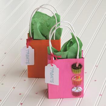 Celebration Cupcake Gift Bags