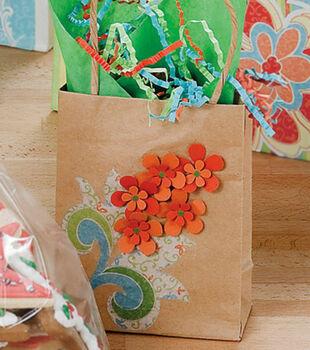 Dimensional Flower Gift Bag