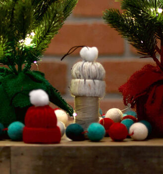 How to Make Mini Hat Ornaments