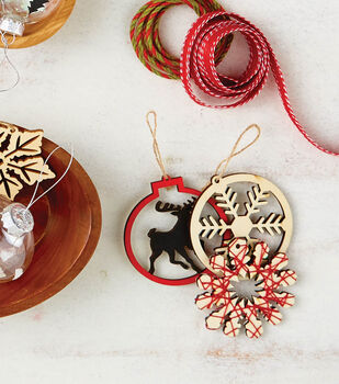 How To Craft Laser Cut Wood Ornaments