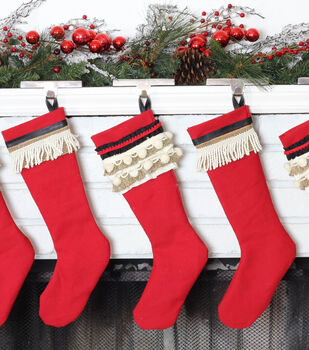 Vintage Inspired Christmas Stockings