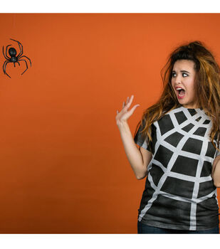 How To Make A Spider Web T-Shirt