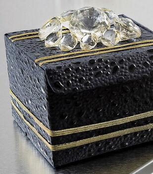 Crystal-Adorned Treat Boxes
