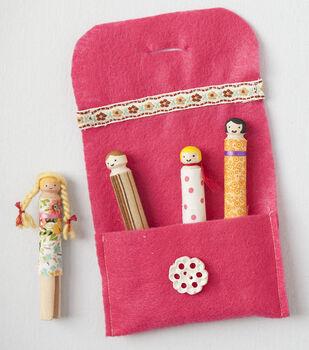 Creativebug-Clothespin Dolls