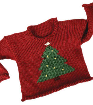 Child's Christmas Tree Sweater