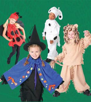No Sew Fleece Halloween Costumes