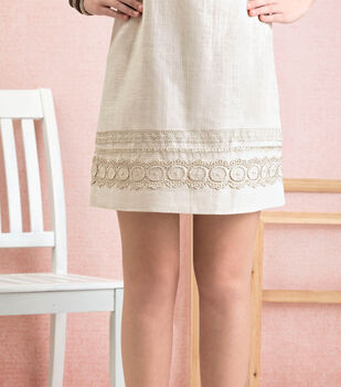 How To Make A Trim Embellished Dress