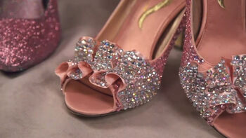 Step out in style with DIY embellished shoes