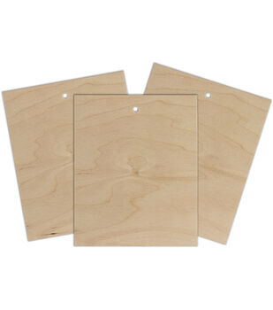 "Project Wood 3/Pkg-8""x10"" Birch Plywood"