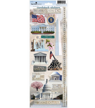 The Paper House Stickers-Washington D.C.