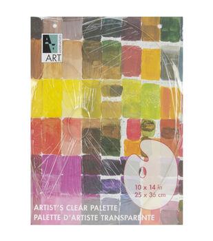 "Art Alternatives Palette 10""X14""-Clear Oval"