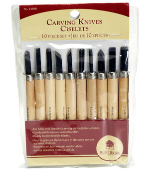 Walnut Hollow Carving Knife Set-10PK