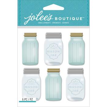 Jolee's Mini Repeats Stickers Mason Jar