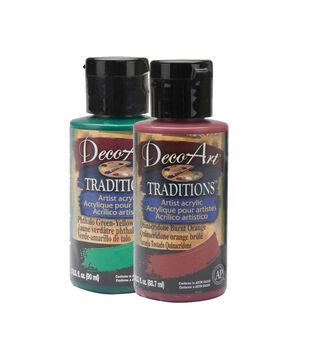 Deco Art Traditions Acrylic Paints 3 Ounces