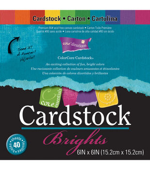 Core'dinations Core Essentials Cardstock Pad 6''x6''
