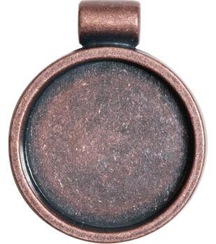 Lisa Pavelka Bezel 1/Pkg-Antique Copper Round