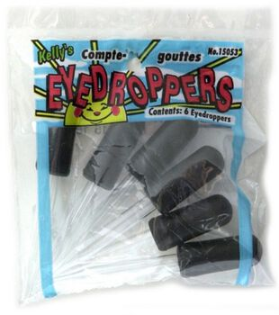 Eyedroppers 6/Pkg