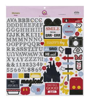 Queen & Co Magic Stickers 12''X12''