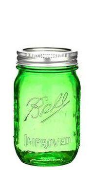 Ball Heritage Green Jar Pint