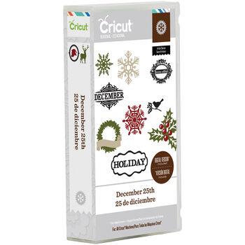 Cricut Mini Seasonal Shape Cartridge-December 25th By Teresa Collins
