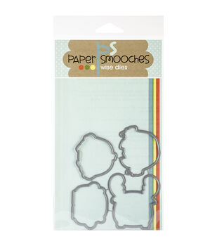 Paper Smooches Die-Chums Pals Icons