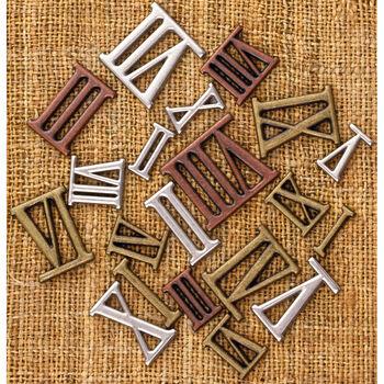 Prima Marketing Mechanicals Metal Vintage Trinkets Roman Numerals Mini