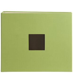 American Crafts 12''x12'' Cloth D-Ring Scrapbook Album