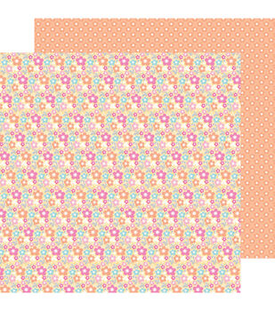 """Birthday Bouquet - Sugar Shoppe Double-sided Cardstock 12""""x12"""""""