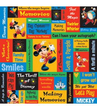 Disney 12''x12'' Paper-25PK/Mickey Phrases