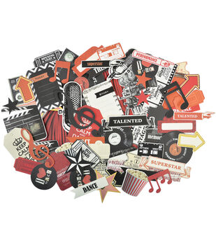 On Stage Collectables Cardstock Die-Cuts-