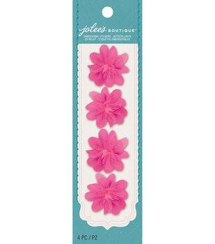 Mini Flowers Embellishments